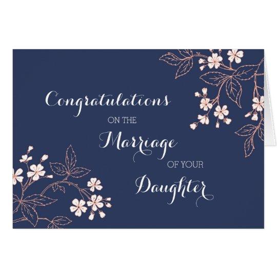 Congratulations Parents of the Bride Vintage Card