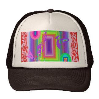 Congratulations Rainbow Colored Trucker Hat
