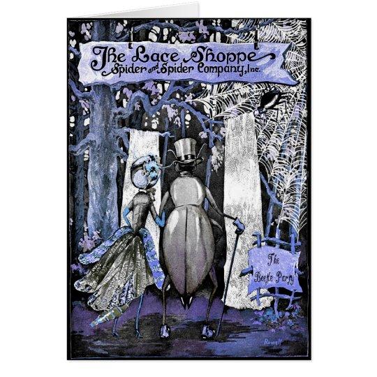 CONGRATULATIONS! SPOOKY BRIDE & GROOM GREETING CARD