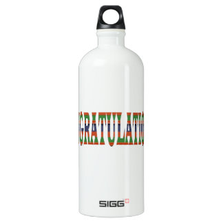 CONGRATULATIONS: Success, Excellence,Event, SIGG Traveller 1.0L Water Bottle