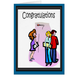 Congratulations! They are just jealous! Greeting Card