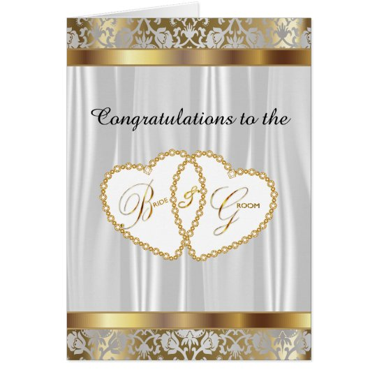 Congratulations to the Bride and Groom - Wedding