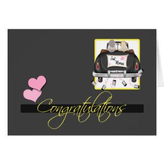 Congratulations To The Brides Wedding Card