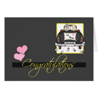 Congratulations To The Brides Wedding Greeting Card