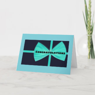 **CONGRATULATIONS** YOU DESERVE THE VERY BEST CARD