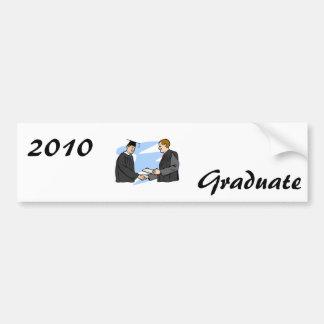 Congratulatory Handshake Bumper Sticker
