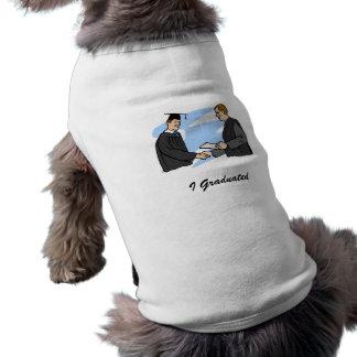 Congratulatory Handshake Dog Tee Shirt