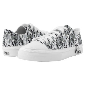 congregation camouflage printed shoes