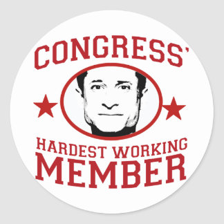 Congress' Hardest Working Member Stickers