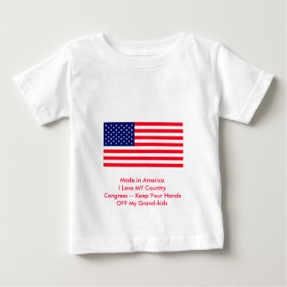 Congress -- Keep Your Hands OFF My Grand-kids Tshirt