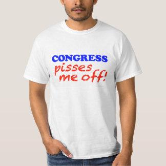"""""""Congress Pisses Me Off"""" T-Shirt"""