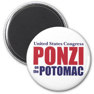 Congress: Ponzi on the Potomac Refrigerator Magnet