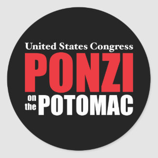 Congress: Ponzi on the Potomac Stickers