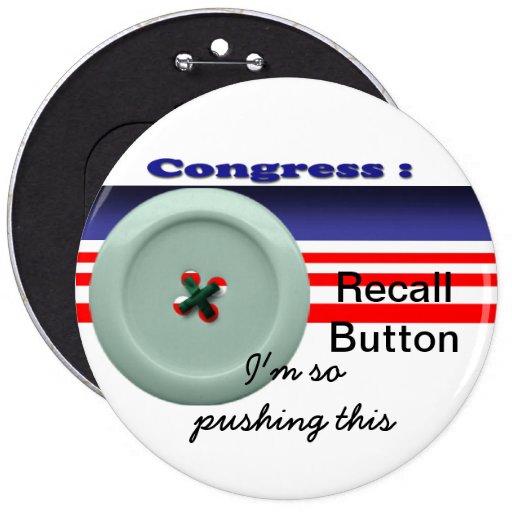 Congress recall pin