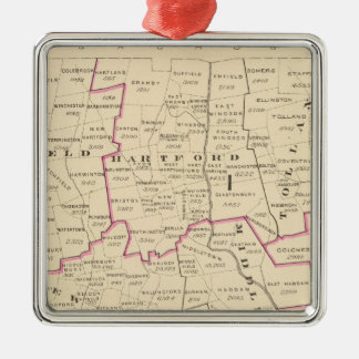 Congressional districts christmas ornament