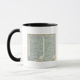 Congressional districts Judicial districts Indiana Mug