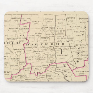 Congressional districts mouse mat