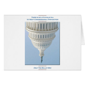 Congressional Dysfunction Greeting Card