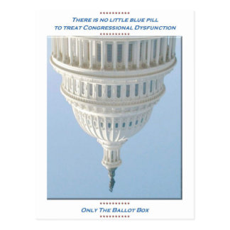 Congressional Dysfunction Postcard