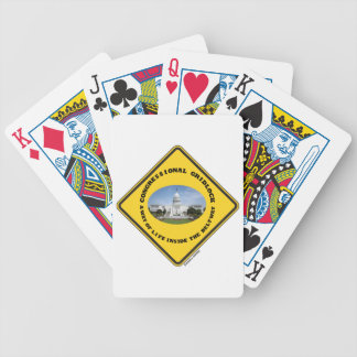 Congressional Gridlock Way Of Life Inside Beltway Playing Cards