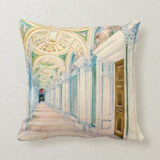 Congressional Library Washington DC 1897 Throw Cushion