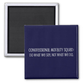 Congressional Office of Morality Briefing Square Magnet