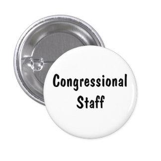 Congressional Staff Pinback Button