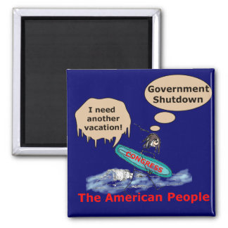 Congressional Vacation Square Magnet