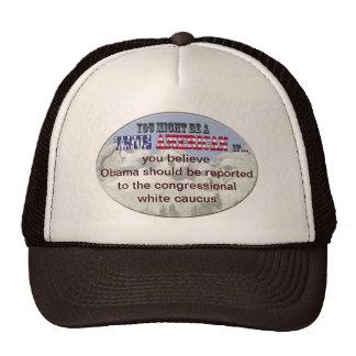 congressional white caucus hats