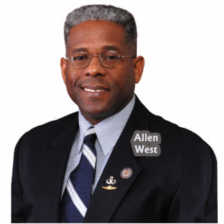 Congressman Allen West Standing Photo Sculpture