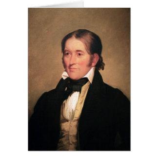 Congressman Davy Crockett by Chester Harding Card