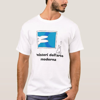 Coniglietto illy, i misteri dell'arte moderna T-Shirt