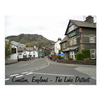 Coniston, England Postcard