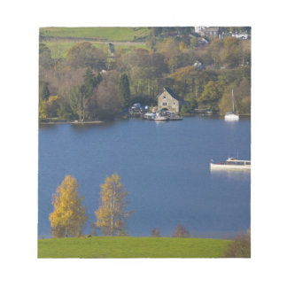 Coniston Water, Lake District, Cumbria, England Notepad