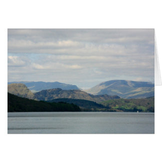 Coniston Water, The English Lake District Card