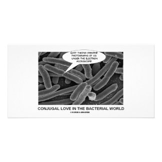 Conjugal Love In The Bacterial World Photo Cards