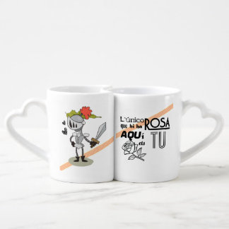 Conjunt Tassa Rep to enamorats Sant Jordi Coffee Mug Set