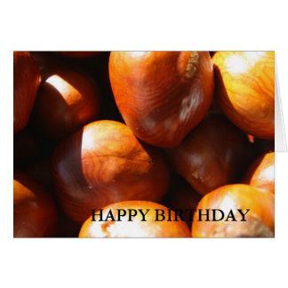 Conkers HAPPY BIRTHDAY Card