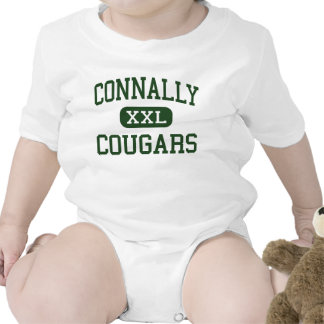 Connally - Cougars - High School - Austin Texas Baby Bodysuit