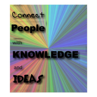 Connect People Poster