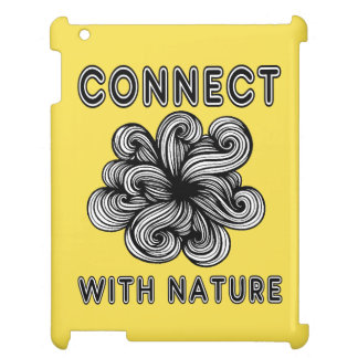 """""""Connect with Nature"""" 631 Art iPad Case"""