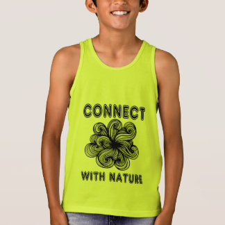 """Connect with Nature"" Boys' Tanktop"