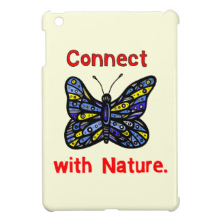 """""""Connect with Nature"""" iPad Mini Case"""