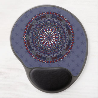 Connected Independence Day Gel Mousepad