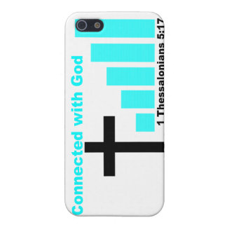 Connected with God iPhone 5 Cases