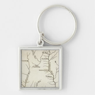 Connecticut 11 key ring