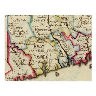 Connecticut 11 postcard