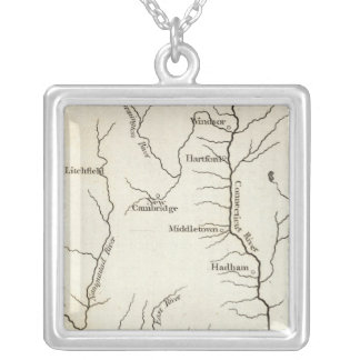 Connecticut 11 silver plated necklace