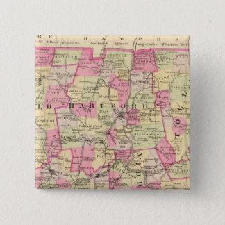 Connecticut 12 15 cm square badge