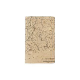 Connecticut 12 pocket moleskine notebook